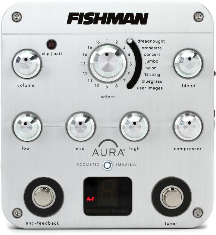 Fishman Aura Spectrum DI Imaging Pedal with D.I. image 1