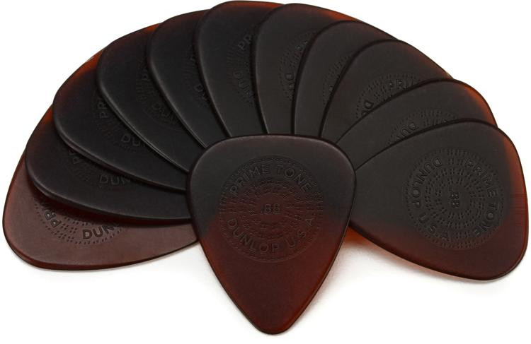 Dunlop Primetone Standard Pick with Grip .88mm 12-pack image 1