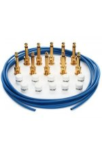 George Ls Effects Cable Kit - Blue/Gold