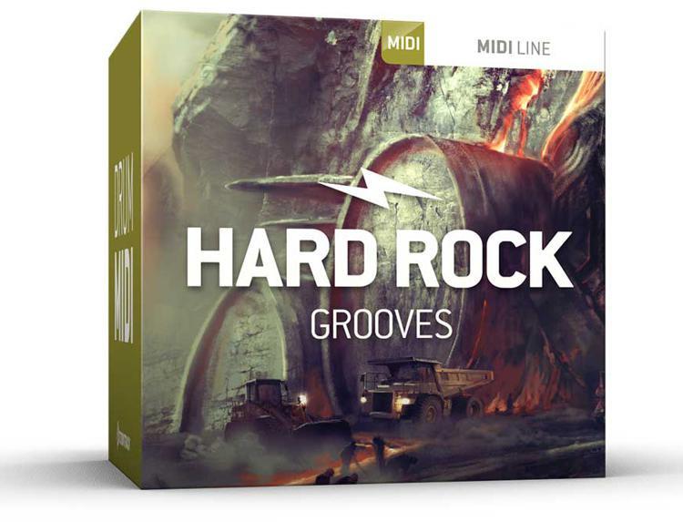 toontrack hard rock grooves drum midi pack sweetwater. Black Bedroom Furniture Sets. Home Design Ideas