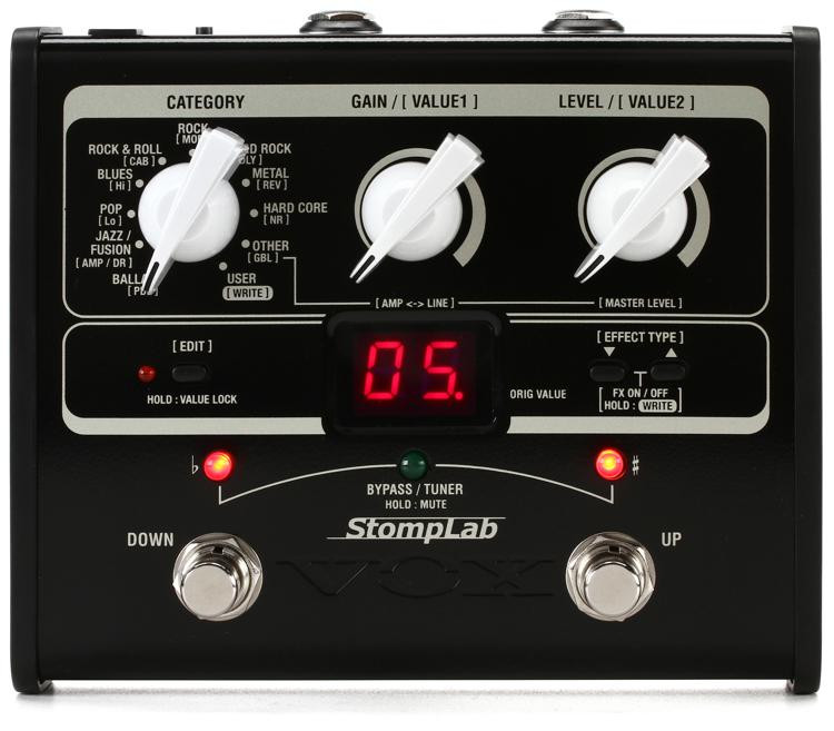 Vox StompLab IG Modeling Effects Pedal image 1