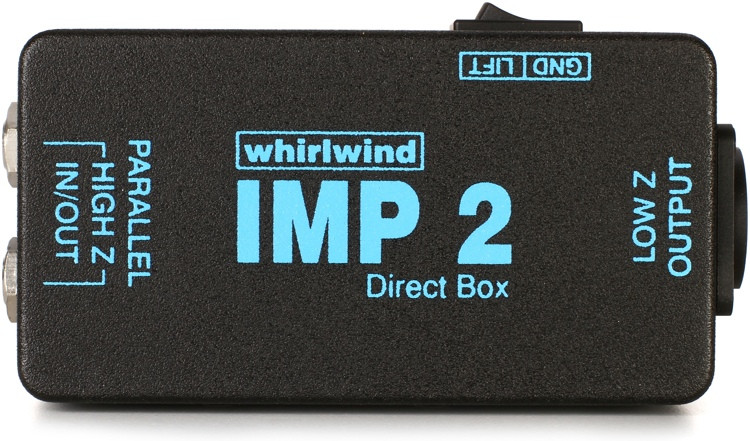 Whirlwind IMP 2 1-channel Passive Instrument Direct Box image 1
