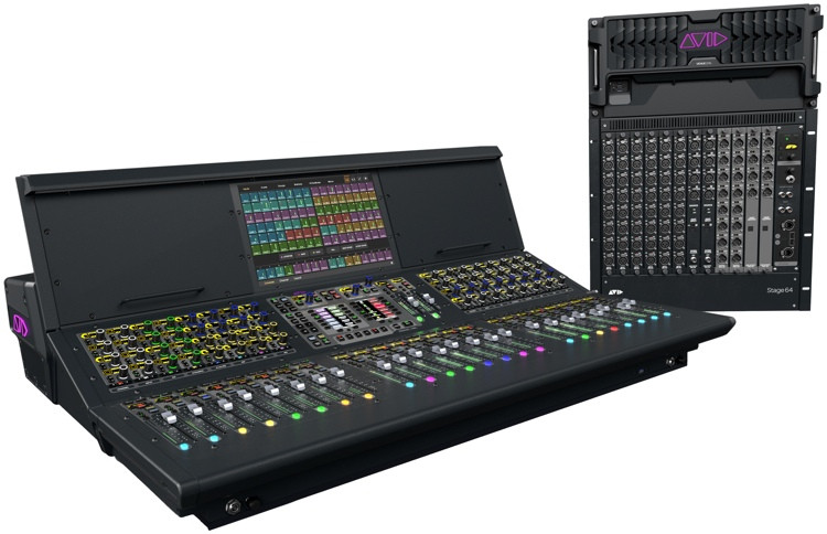 Avid VENUE S6L System with S6L-24 Control Surface and E6L-192 Engine image 1