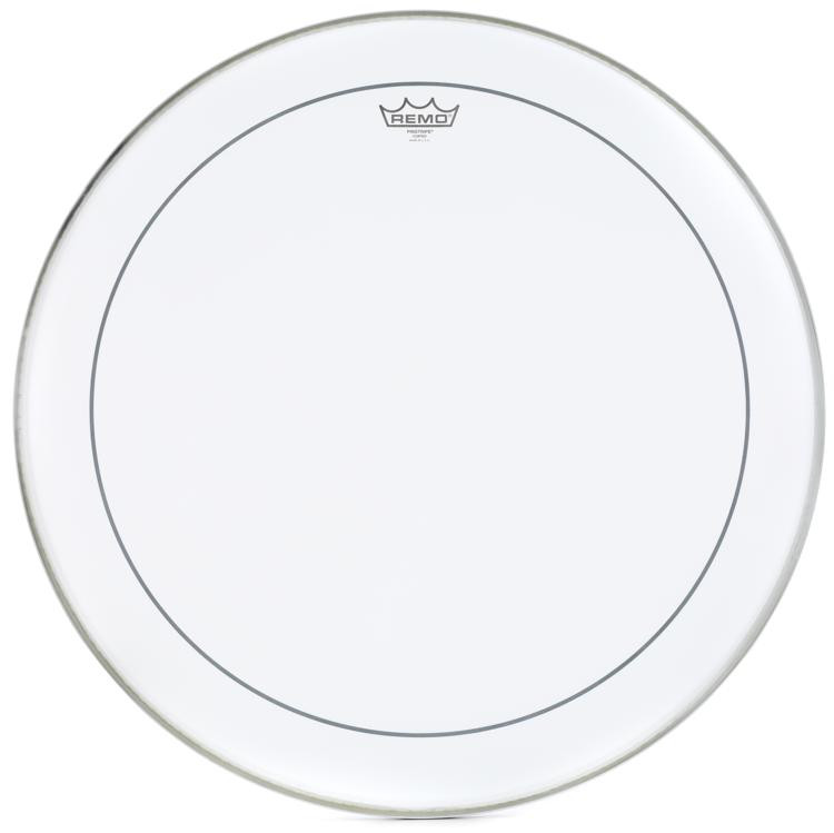 Remo Coated Pinstripe Bass Drum Head - 24