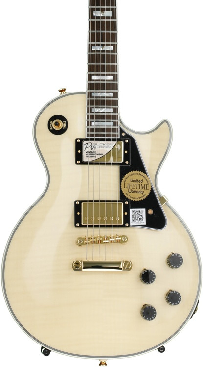 epiphone les paul custom 100th anniversary outfit antique natural sweetwater. Black Bedroom Furniture Sets. Home Design Ideas