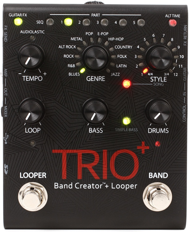 DigiTech Trio+ Band Creator and Looper Pedal image 1