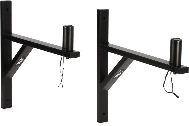 On-Stage Stands SS7914B Wall Mount Speaker Bracket (pair) image 1