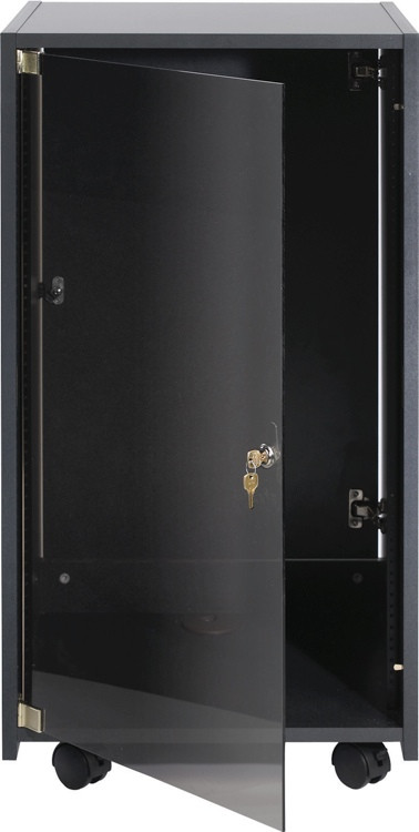 Chief 8U Elite Rack ERK-8-20B - Ebony Fleck image 1