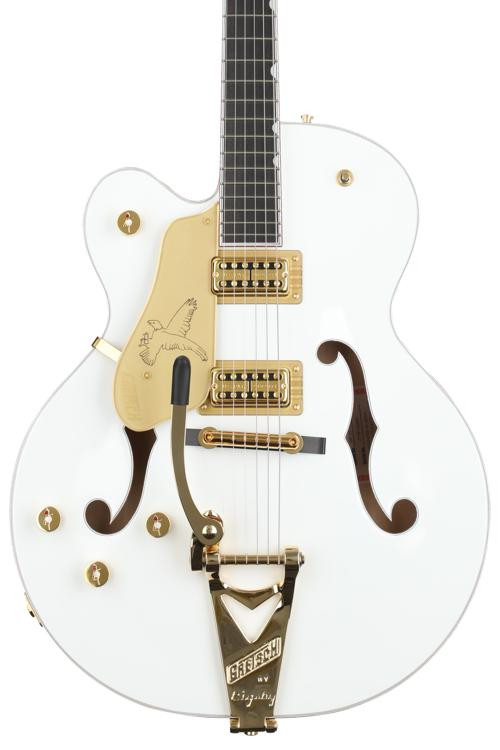 Gretsch G6136T White Falcon Player\'s Edition Left-handed with Bigsby image 1