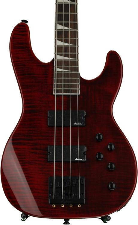 Jackson CBXNT IV Concert Bass - Trans Red image 1