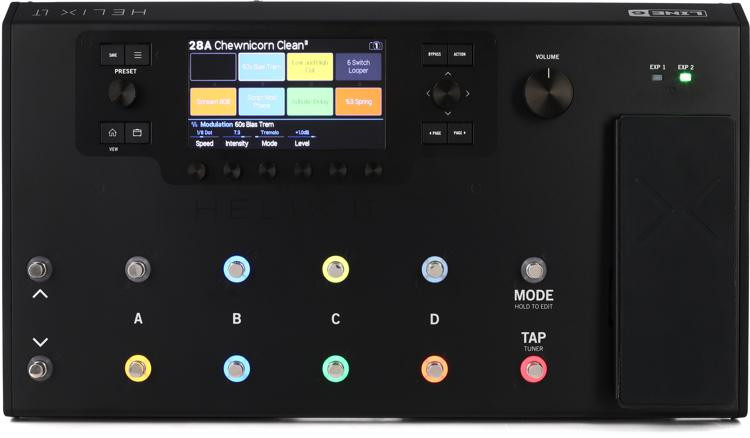 Helix LT Guitar Multi-effects Processor