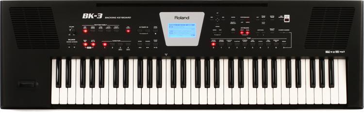 Roland BK-3 61-key Arranger - Black image 1