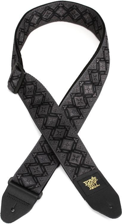 Ernie Ball Polypro Strap - Regal Black image 1