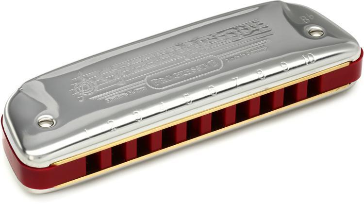Hohner 542BX-Bb Golden Melody Diatonic - Key of B Flat image 1
