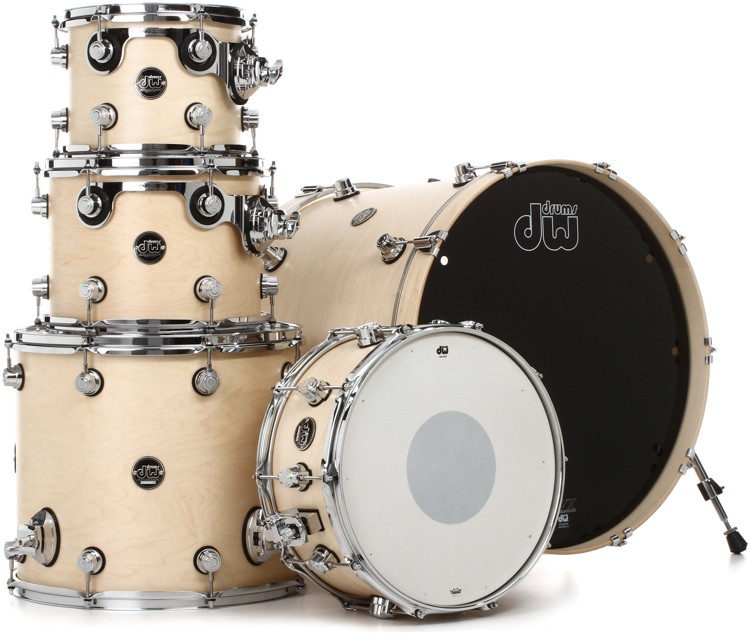 DW Performance Series 5-piece Shell Pack with Snare - 20