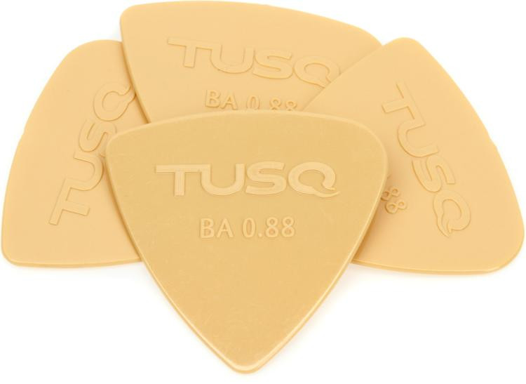 Graph Tech Tusq Bi-Angle .88mm Pick - Warm 4-Pack image 1
