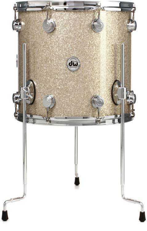 DW Collector\'s Series FinishPly Floor Tom - 12