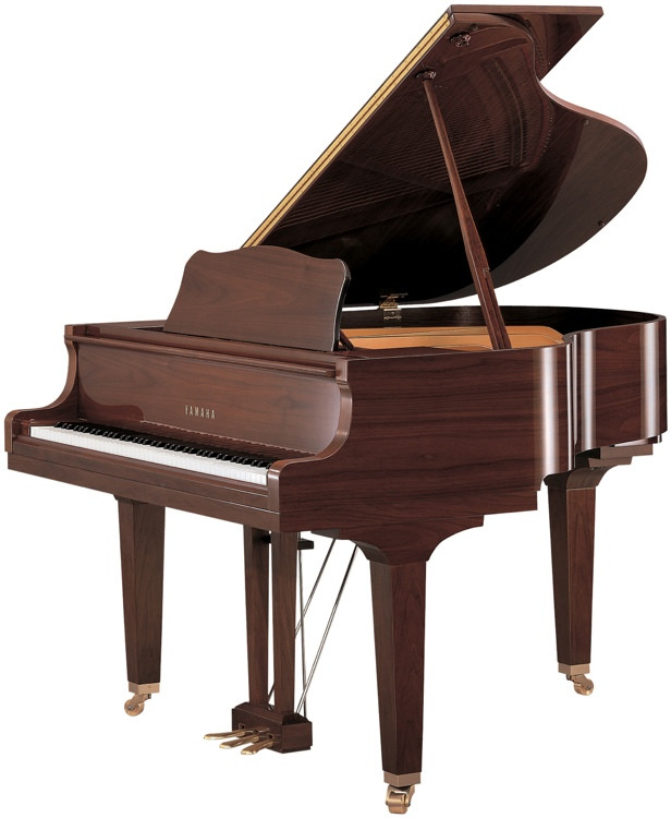 Yamaha GB1K Acoustic Grand Piano - Polished American Walnut image 1