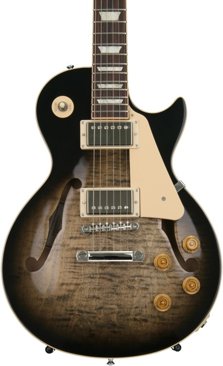 Gibson Memphis ES-Les Paul - Cobra Burst image 1