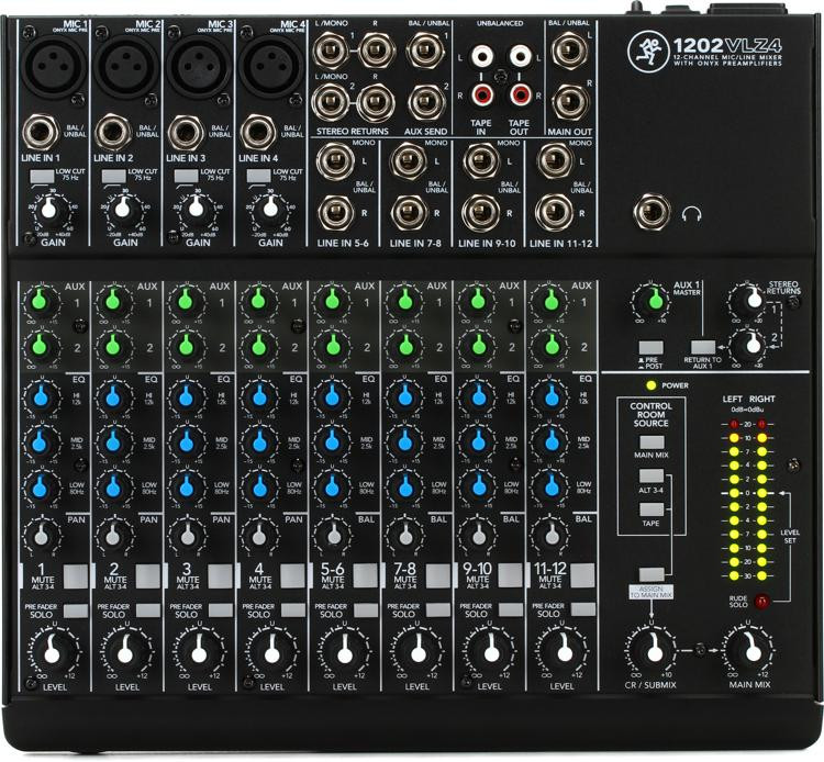 Mackie 1202VLZ4 Mixer image 1