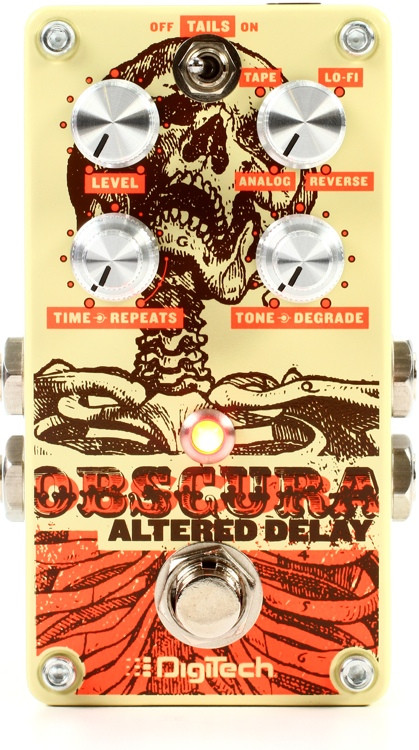 DigiTech Obscura Altered Delay Pedal image 1