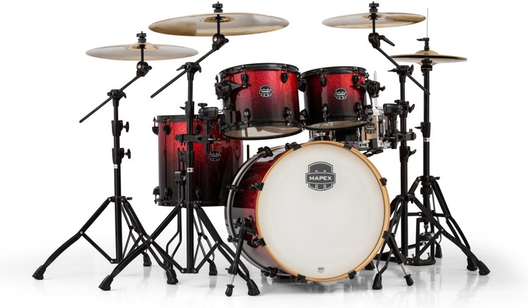 Mapex Armory 5-piece Fusion Shell Pack - Magna Red image 1