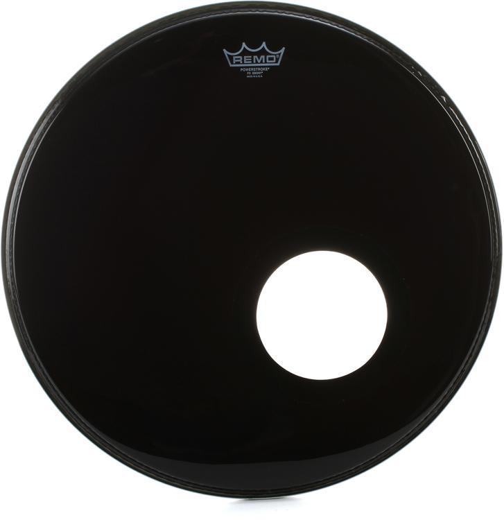 Remo Powerstroke 3 Ebony Drum Head - 20