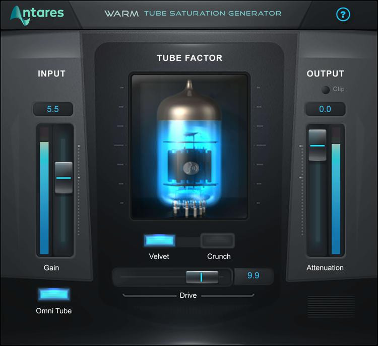 Antares WARM Tube Saturation Plug-in image 1
