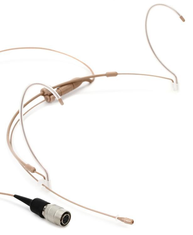 Countryman H6 Omnidirectional Headset for Audio-Technica - Omni, Speaking, Tan image 1