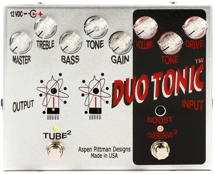 Aspen Pittman Designs Duo Tonic Preamp / Overdrive / Boost Pedal image 1
