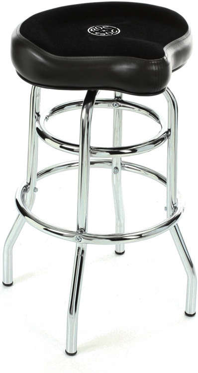 Roc N Soc Tower Saddle Stool Seat Black Sweetwater