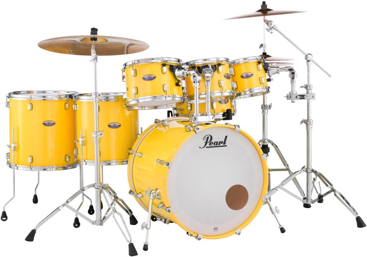 Pearl Decade Maple Shell Pack - 7pc - Solid Yellow image 1
