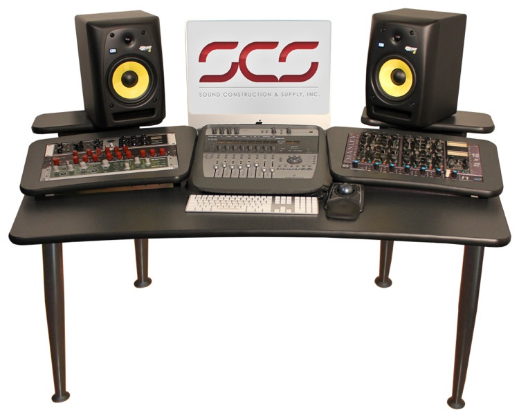 Sound Construction AVM 6x2 Audio/Video Mixing/Mastering Desk image 1