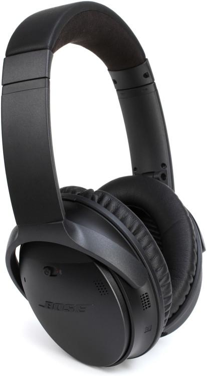 Headphones bose wireless black - monitor headphones black