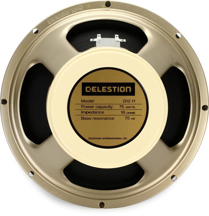 Celestion Creamback 75 : celestion g12h 75 creamback 12 75 watt replacement guitar speaker 16 ohm sweetwater ~ Russianpoet.info Haus und Dekorationen