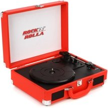 Rock N Rolla Junior Briefcase Turntable - Red