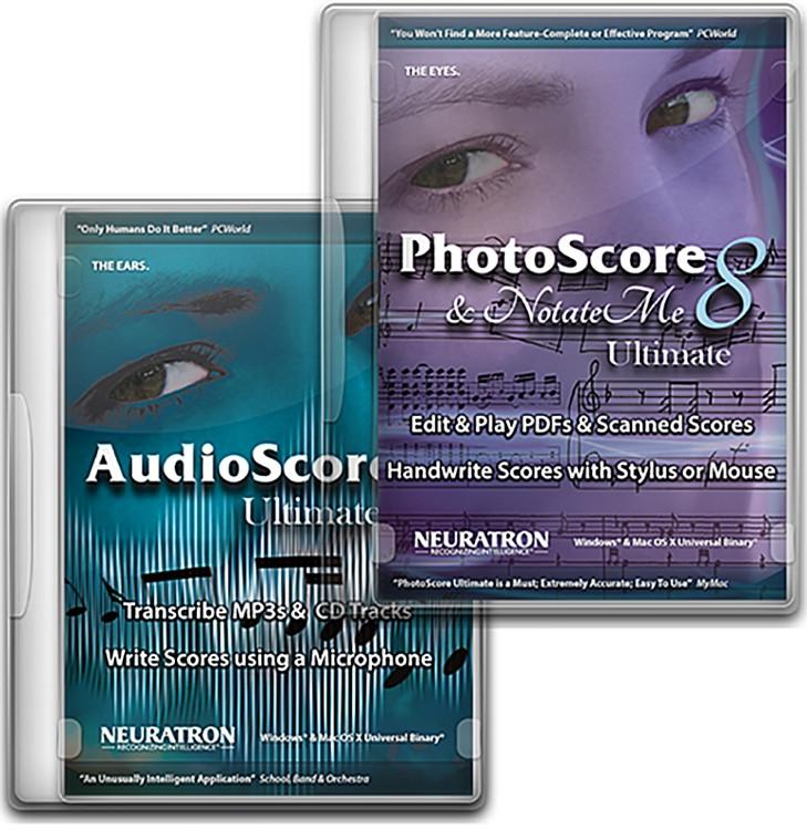 PhotoScore & NotateMe Ultimate 8 and AudioScore Ultimate 8 Bundle