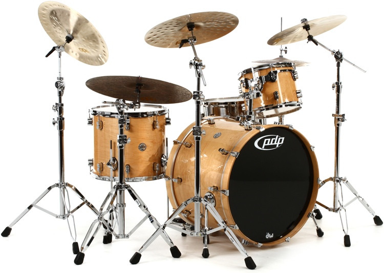 PDP Concept Maple Shell Pack - 3-Piece - Natural Lacquer image 1