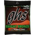 GHS BB30L Bright Bronze - 80/20 Bronze Light Acoustic Guitar Strings