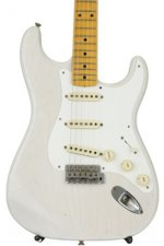 Fender Custom Shop 1958 Journeyman Relic Stratocaster - Aged White Blonde with Maple Fingerboard