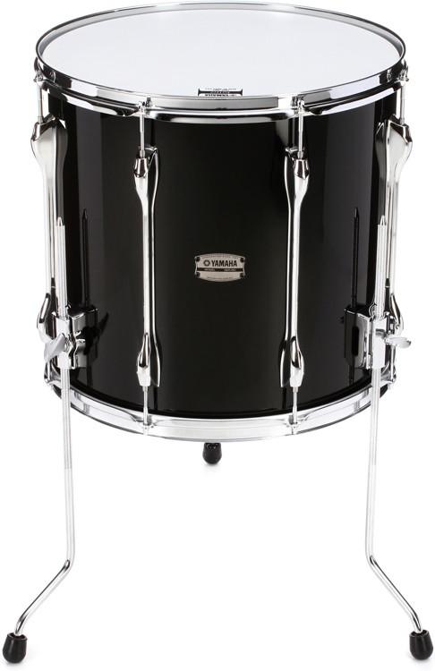 Yamaha recording custom floor tom 15 x16 solid black for 15 floor tom
