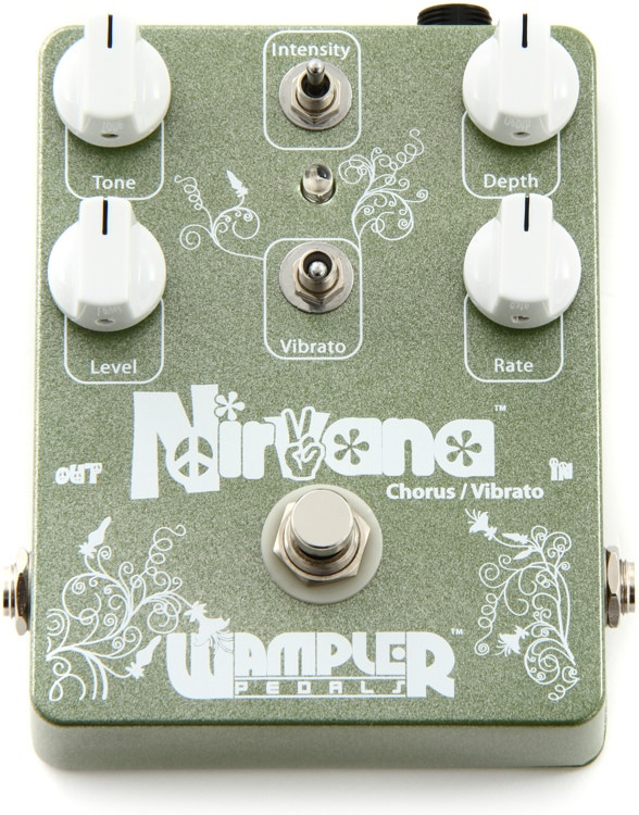 wampler nirvana chorus vibrato pedal sweetwater. Black Bedroom Furniture Sets. Home Design Ideas