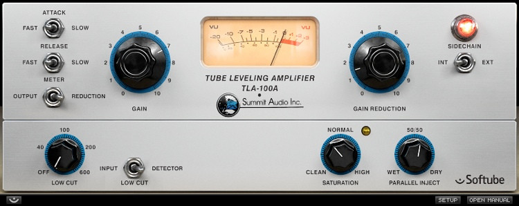 Softube Summit Audio TLA-100A Compressor Plug-in image 1