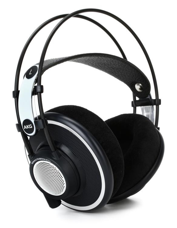 Akg K702 Open Back Studio Reference Headphones Sweetwater