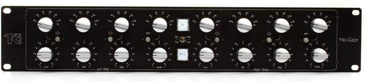 TK Audio TK-lizer Stereo Baxandall EQ with M/S circuit image 1