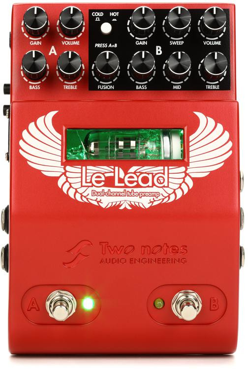 Two Notes Le Lead 2-channel Hi-Gain Tube Preamp Pedal image 1
