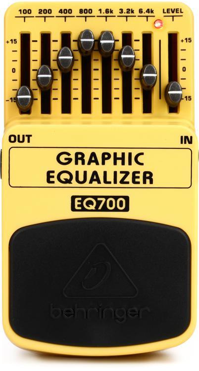 Behringer EQ700 Graphic Equalizer Pedal image 1