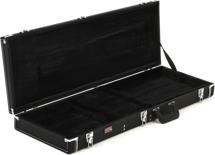 Gator Deluxe Wood Case - Double-cutaway Electric Guitar, Black