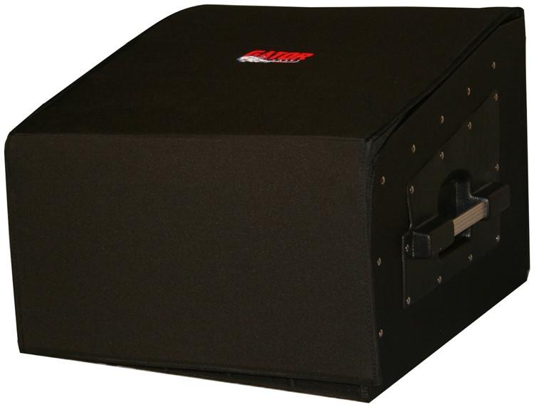 Gator GRCW-10X4 - 10U Top, 4U Side Wood Console Audio Rack image 1