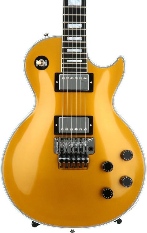 Gibson Custom Les Paul Custom Limited - Floyd Rose, Antique Gold image 1